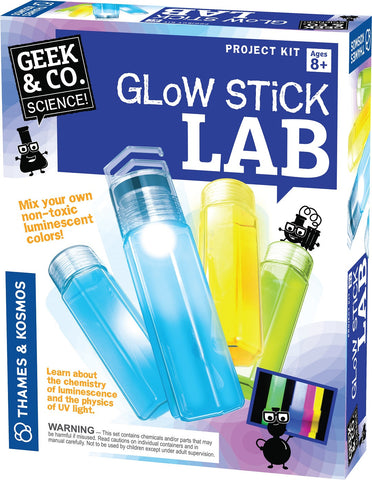 Geek & Co Science Project Kit - Glow Stick Lab by Thames & Kosmos