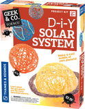 Geek & Co Science Project Kit - DIY Solar System by Thames & Kosmos