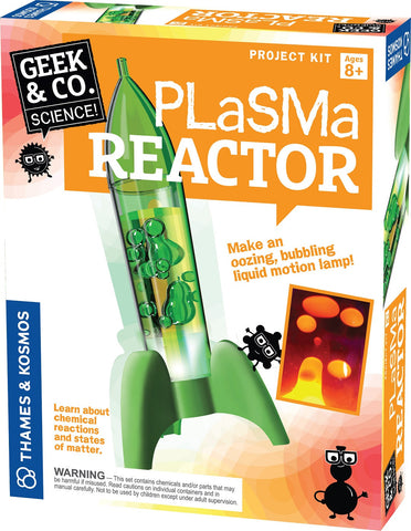 Geek & Co Science Project Kit - Plasma Reactor by Thames & Kosmos