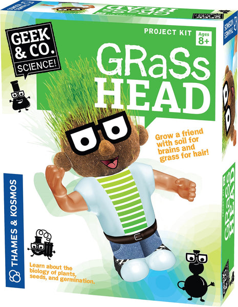 Geek Toys Science : Geek co science project kit grass head by thames