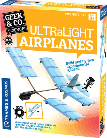 Geek & Co Science Project Kit - UltraLight Airplanes by Thames & Kosmos