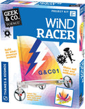 Geek & Co Science Project Kit - Wind Racer by Thames & Kosmos