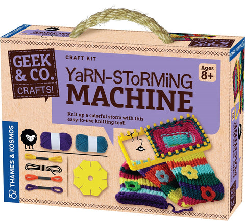 Geek & Co Yarn-Storming Machine Craft Kit by Thames & Kosmos