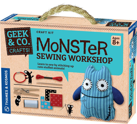 Geek & Co Monster Sewing Workshop Craft Kit by Thames & Kosmos