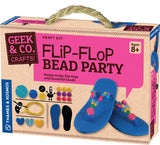 Geek & Co Flip Flop Bead Party Craft Kit by Thames & Kosmos