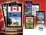 Canadian Provinces Playing Card Game Canada