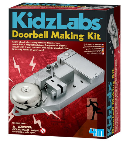 4M KidzLabs Doorbell Making Kit - Electronics Experiment