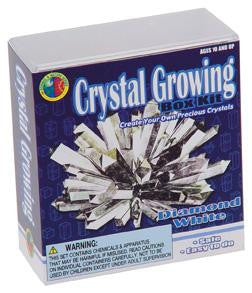Diamond White Crystal Growing Box  Kit 6 Colors Available