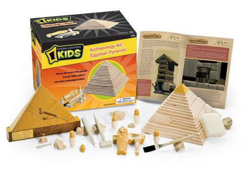 Thames & Kosmos Archaeology Kit: Egyptian Pyramid Reduced 2012 Packaging