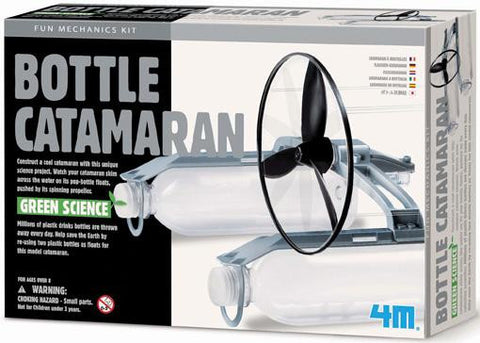 Green Science/ Bottle Catamaran Kit a 4M kit