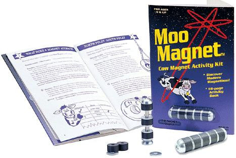 Educational Moo Magnet Cow Magnet  Activity Kit