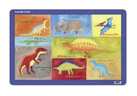 Dinosaurs Placemat by Crocodile Creek