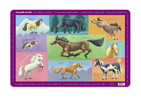 Horses Placemat by Crocodile Creek