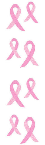 Mrs Grossman's Stickers - Sparkle Pink Awareness Ribbon