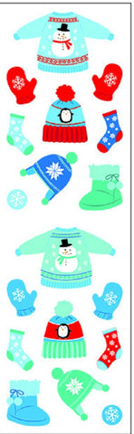 Mrs Grossman's Stickers - Winter Gear