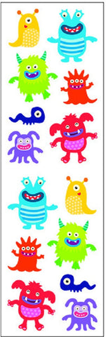 Mrs Grossman's Stickers - Little Monsters