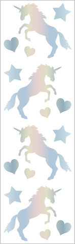 Mrs. Grossman's Stickers Holographic Unicorns