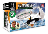 Uberstix Pirate Ship/Flying Saucer 142 pc Scavenger Recycling Series Kit