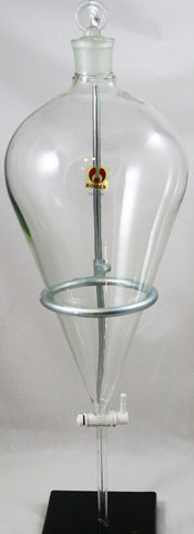 5000mL (5L) Separatory Funnel, Bomex Borosilicate Glass