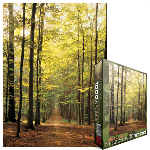 "Forest Path 1000 Piece Puzzle 19.25"" x 26.5"""