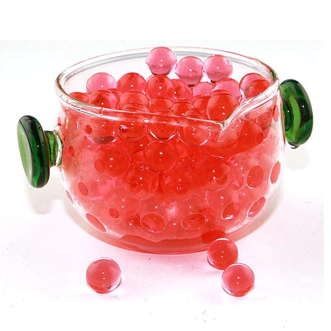 Red Rainbow Water Beads Growing Polymer Gel Balls-1 Pound