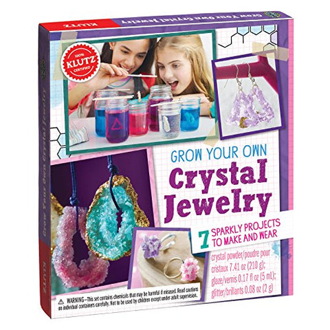 Klutz Grow Your Own Crystal Jewelry Book & Craft Kit