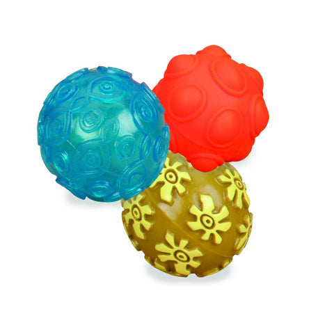 B. Mini Oddballs Textured Sensory Balls Pack of 3