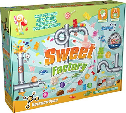 Sweet Factory Science Experiment Kit by Science4You