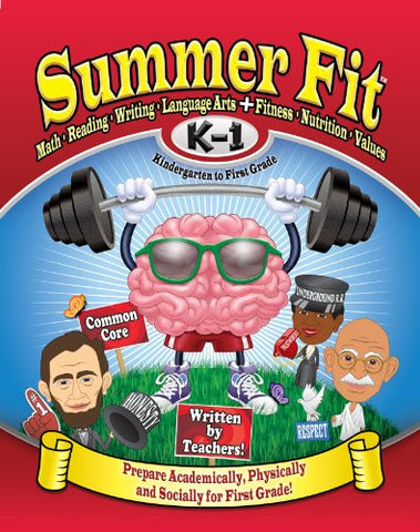 Summer Fit - Common Core Summer Activity Book - Prepare for First Grade