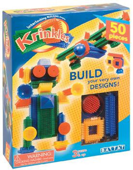 Battat Toy Krinkles Interlocking Building Set 50 Pc Set