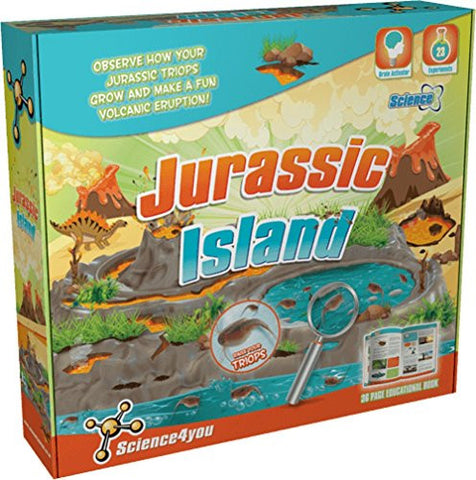 Jurassic Island Science Kit w/ Triops by Science4You