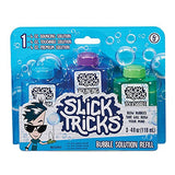 Slick Tricks Bubble Solution Refill 3-Pack by Little Kids