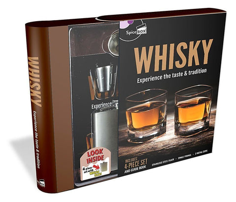 SpiceBox Whisky Experience the Taste & Tradition Kit Gift Set