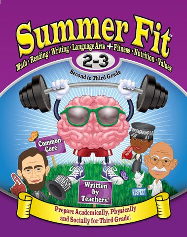 Summer Fit - Common Core Summer Activity Book - Prepare for 3rd Grade