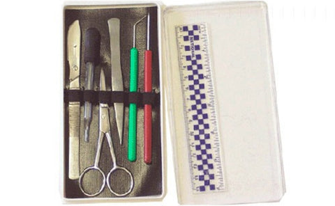 Dissection Kit with Screw Lock Blade for Dissecting