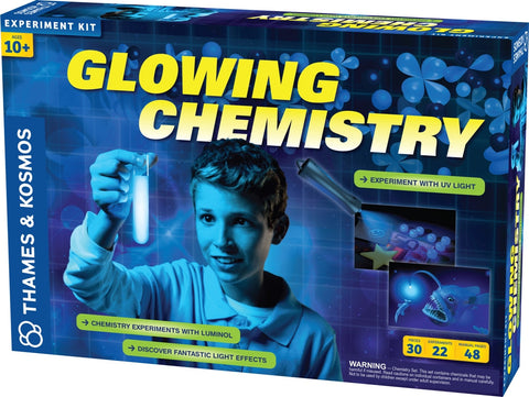 Glowing Chemistry Experiment Kit by Thames & Kosmos