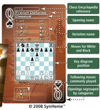 Chess Openings Including French Defense Playing Cards Deck of 52