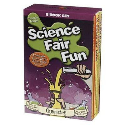 Science Fair Fun CHEMISTRY 5 Book Set SALE