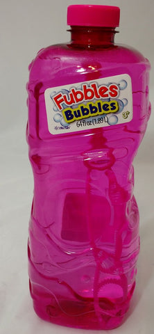 Fubbles Bubbles 64oz Premium Bubble Solution Refill By Little Kids