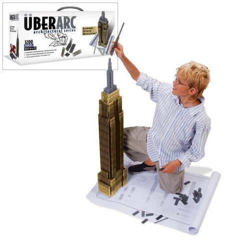 UberArc Uberstix 1200 Empire State Building Architectural Kit