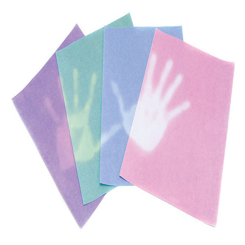 Thermochromic Heat Sensitive Paper - Multicolor Pack of 24