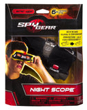 Spy Gear - Night Scope Binoculars w/Zoom & Red LED