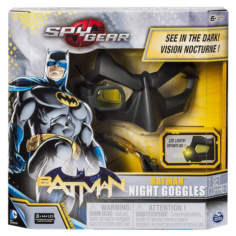 Spy Gear Batman Night Goggles w/2x Magnification Lens