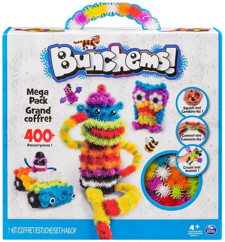 Bunchems Mega Pack w/400+ Pieces and Guide Book