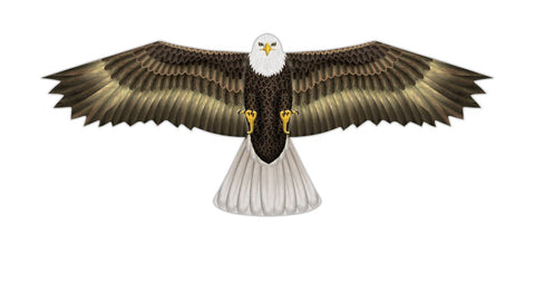 70 inch Eagle Kite Supersized Bird of Prey Nylon Kite w/Winder by Wind-n-Sun