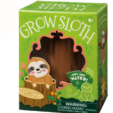 Grow Sloth by Toysmith Just Add Water