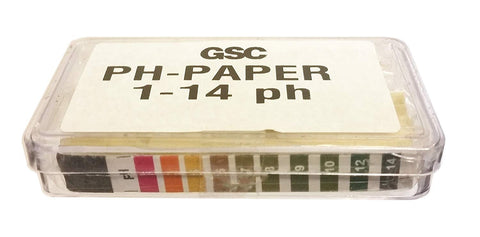 pH Indicator Test Paper, Wide Range - Pack of 200 Strips