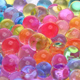Jumbo Polymer Balls - Rainbow Super Growing Polymer Gel Balls 1 oz