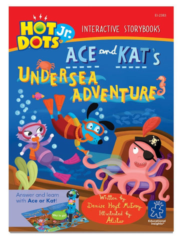Hot Dots Jr - Interactive Educational Storybook - Ace and Kat's Undersea Adventure