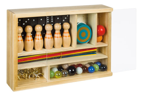 Neato! Classic Game Set in Wooden Storage Box by Toysmith